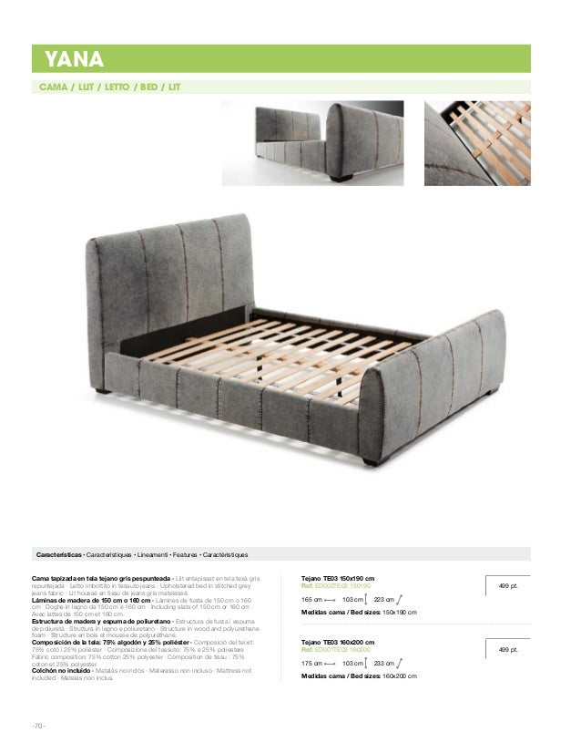 -73- CAMA ARCÓN / LLIT ARCÓ / LETTO CONTENITORE / CHEST BED / LIT AVEC COFRE Características • Característiques • Lineamen...