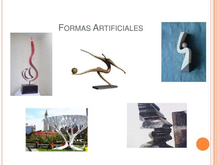 FORMAS ARTIFICIALES