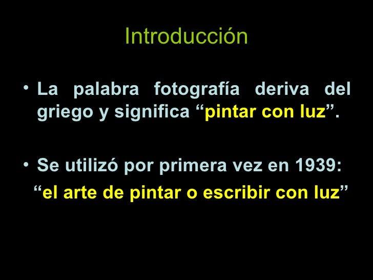 La Fotografia, breve historia Slide 2
