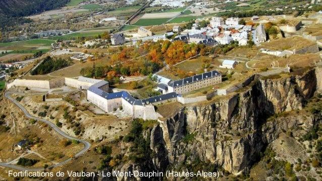Fortifications de Vauban - Le Mont-Dauphin (Hautes-Alpes)