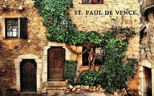 La france profonde - Office du tourisme saint paul de vence ...