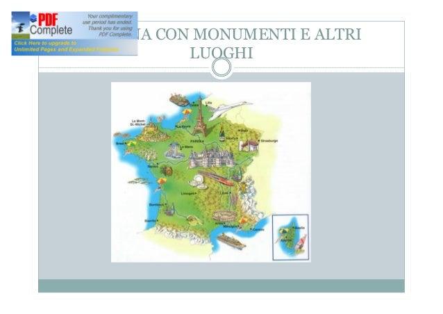 Cartina Della Francia Con Monumenti.La Francia Maria Quaresima