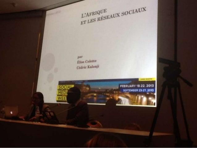 MERCIhttp://socialmediaweek.org/paris/         #smwafricarise    www.kahilumumba.com