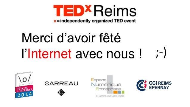 La fête de l'Internet avec TEDxReims