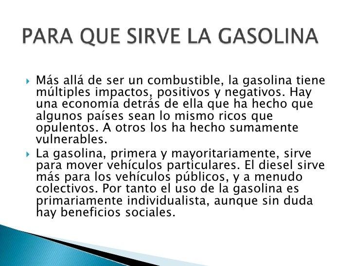 El captador de la gasolina lanos los precios