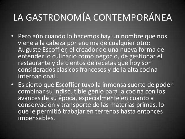 La gastronom a contempor nea nora graciela modolo - Diferencia entre arquitectura moderna y contemporanea ...