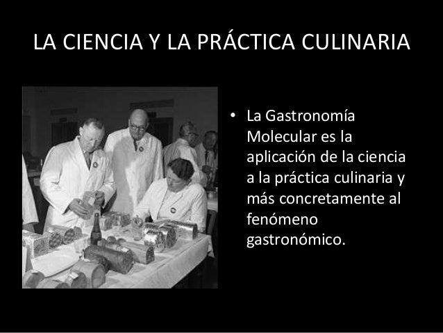 La gastronom a molecular nora graciela modolo for Quien invento la cocina molecular