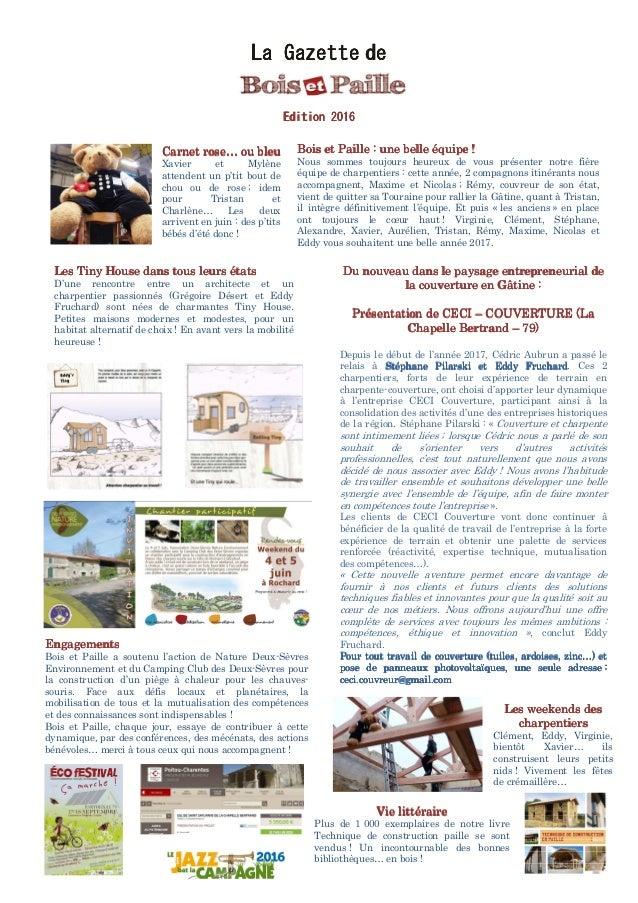 La GazetteLa GazetteLa GazetteLa Gazette dededede Edition 201Edition 201Edition 201Edition 2016666 EngagementEngagementEng...