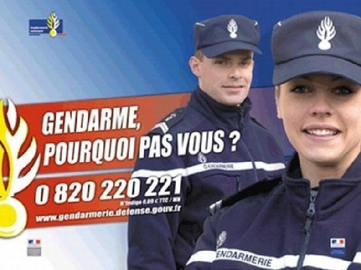 La gendarmerie recrute....•   La gendarmerie décide de sélectionner sa gendarmette la plus fidèle, après    toute une séri...