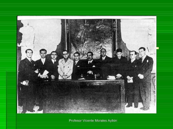 LA GENERACIÓN DEL 27 Grupo de autores que merece más que ningún otro el nombre  de Generación . Profesor Vicente Morales A...