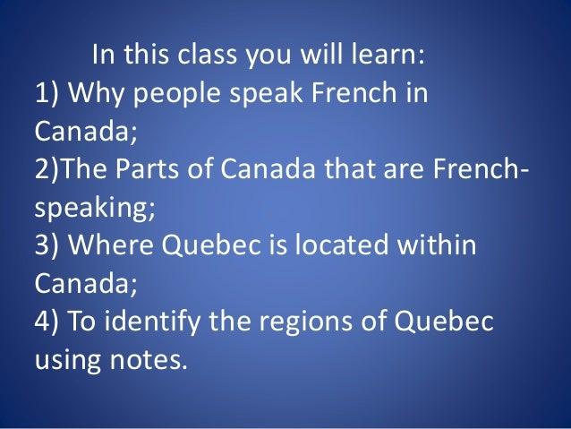 la geographie du quebec et du canada francais