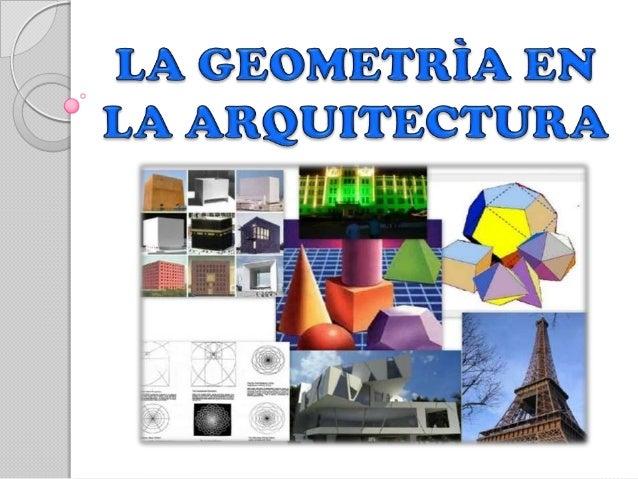 la geometria en la arquitectura