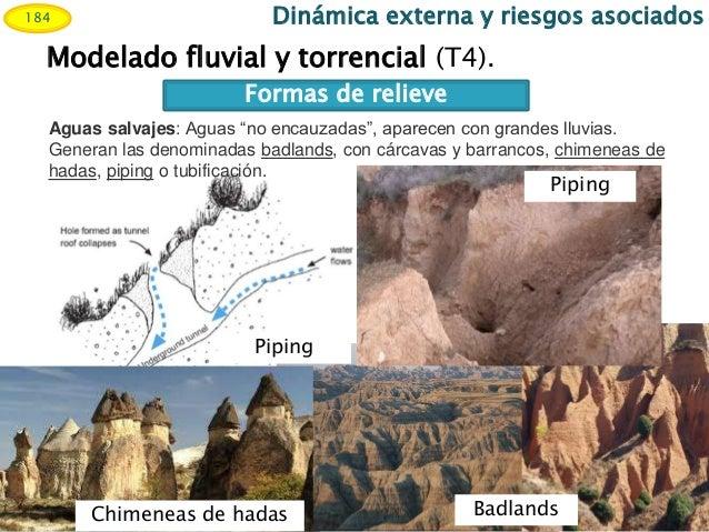 Resultado de imagen de La denudación en regiones secas