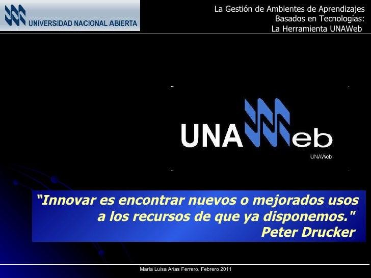 """"""" Innovar es encontrar nuevos o mejorados usos  a los recursos de que ya disponemos.""""  Peter Drucker"""
