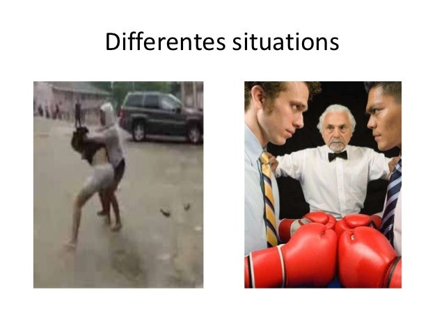 Differentes situations