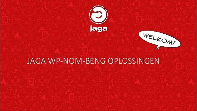 JAGA WP-NOM-BENG OPLOSSINGEN