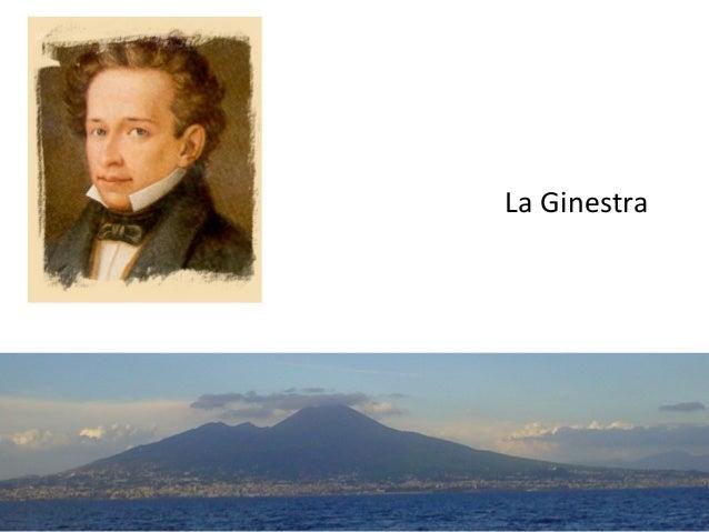 La Ginestra Giacomo Leopardi 1836-37 1 M.SPADA