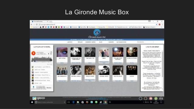 La Gironde Music Box 1