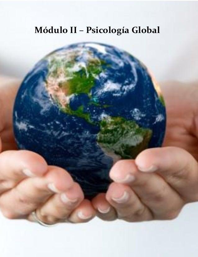 Módulo II – Psicología Global