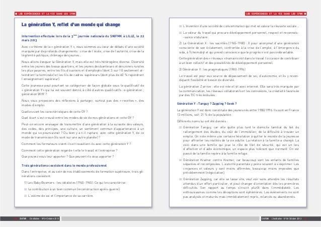 SNIFMK | L'Institulien - N°04 Octobre 2013 | 1110 | SNIFMK | L'Institulien - N°04 Octobre 2013 LES EXPÉRIENCES ET LA VIE D...