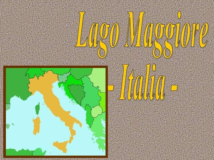 Lago Maggiore - Italia -