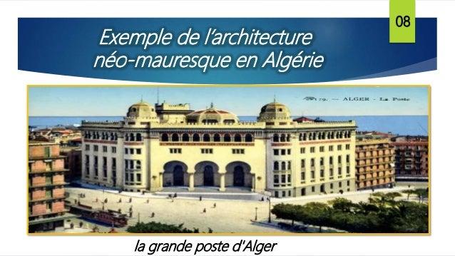 La grande poste d 39 alger for Architecture poste a poste