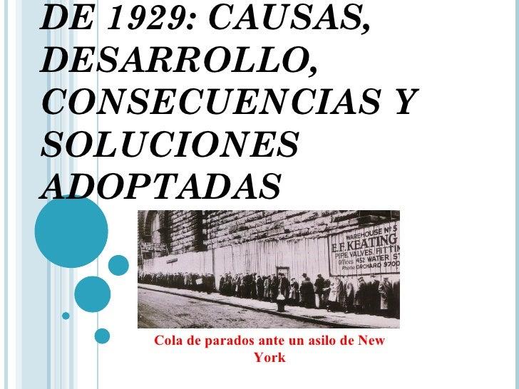 La gran depresi n de 1929 for New york alloggio economico