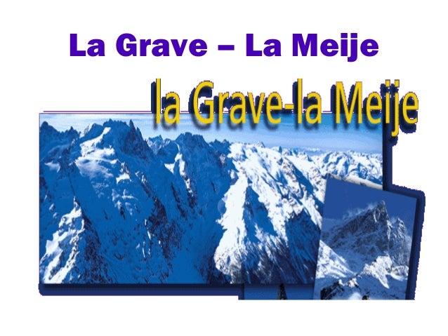 La Grave – La Meije