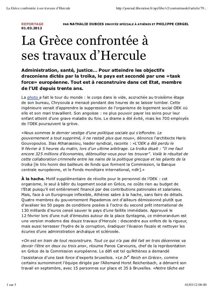 La Grèce confrontée à ses travaux d'Hercule                       http://journal.liberation.fr/api/libe/v2/contentmodel/ar...
