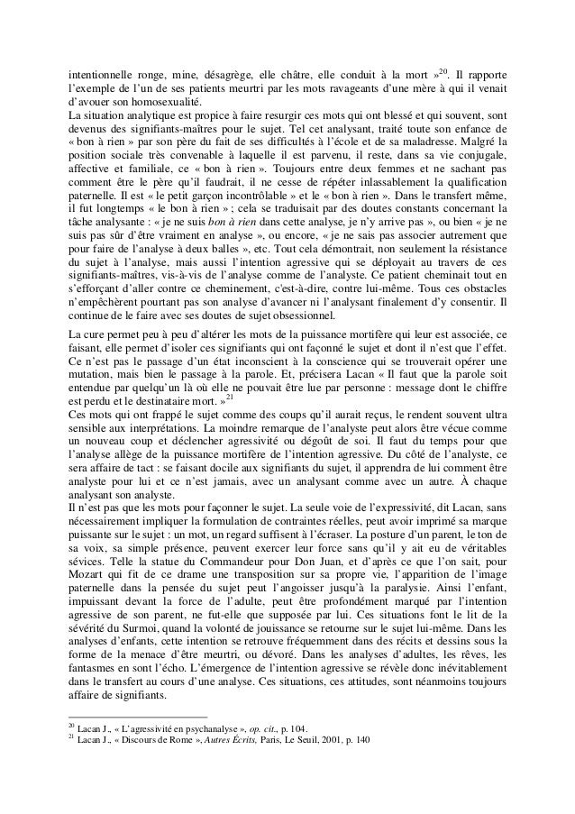 L agressivite en psychanalyse 21 pages 184 ko for Stade du miroir lacan