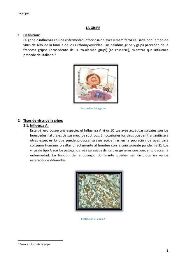 La gripe Slide 2