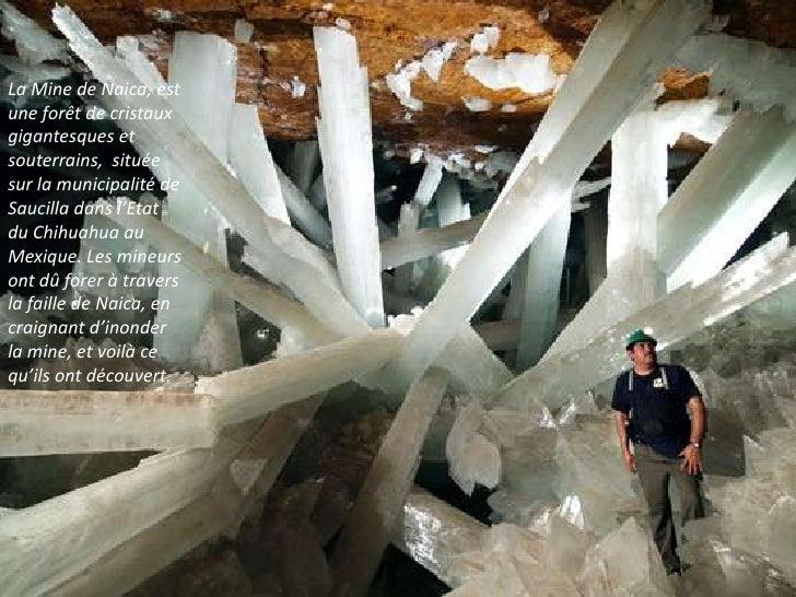 La grotte des cristaux g ants de naica - Cristaux de soude saint marc ...