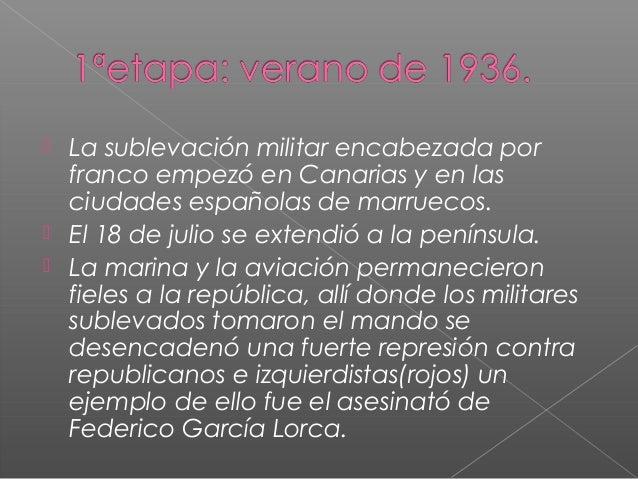 La guerra civil española Slide 2