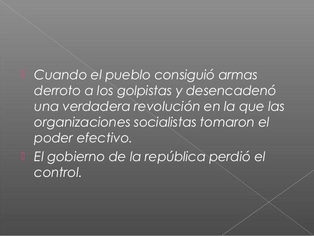 La guerra civil española Slide 3