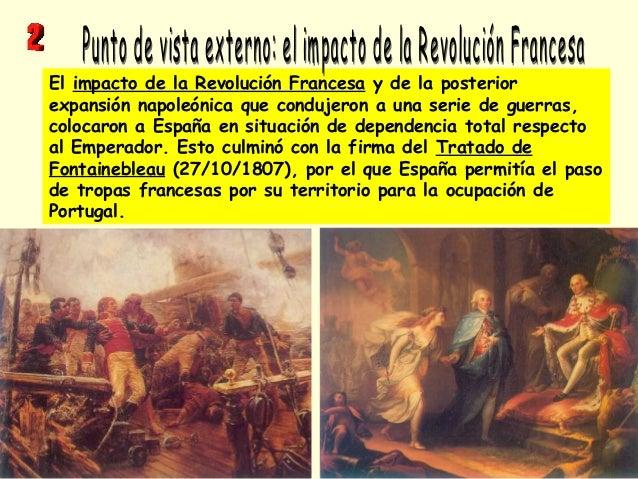 El impacto de la Revolución Francesa y de la posterior expansión napoleónica que condujeron a una serie de guerras, coloca...