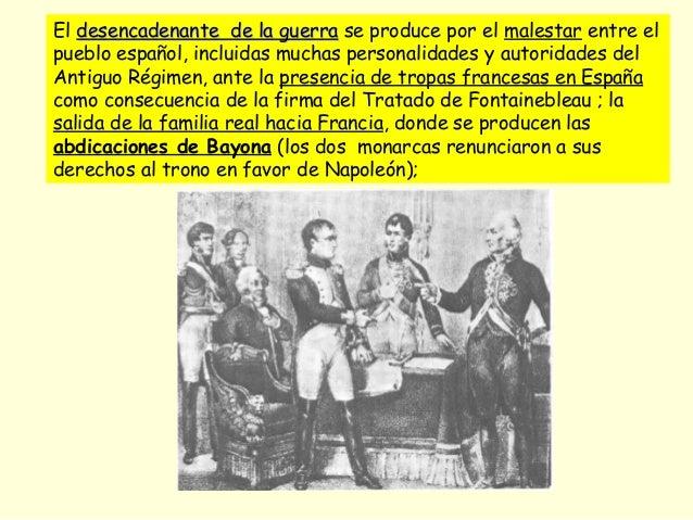 El desencadenante de la guerradesencadenante de la guerra se produce por el malestar entre el pueblo español, incluidas mu...