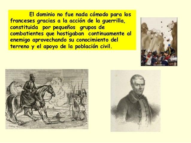 1.- Grandes pérdidas humanas, calculadas en unos 300.000 españoles, 350.000 franceses y un número muy elevado de británico...