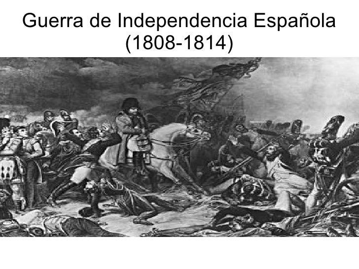 Guerra de Independencia Española (1808-1814)