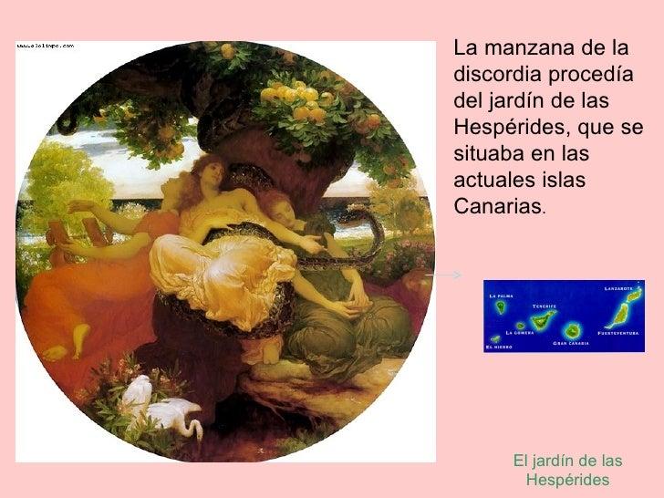 Resultado de imagen para manzana de oro españa perseo