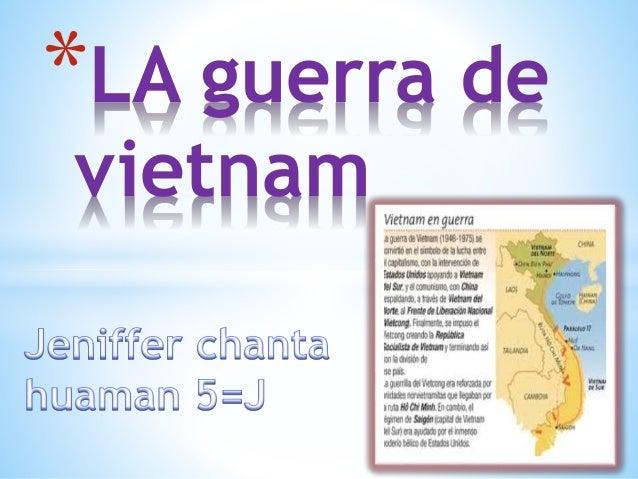 *LA guerra de  vietnam