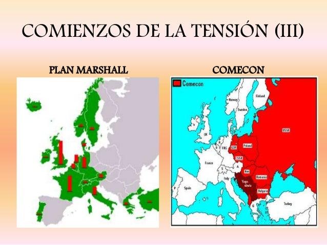 La guerra fr a y el proceso de descolonizaci n - The marshall plan was designed to ...