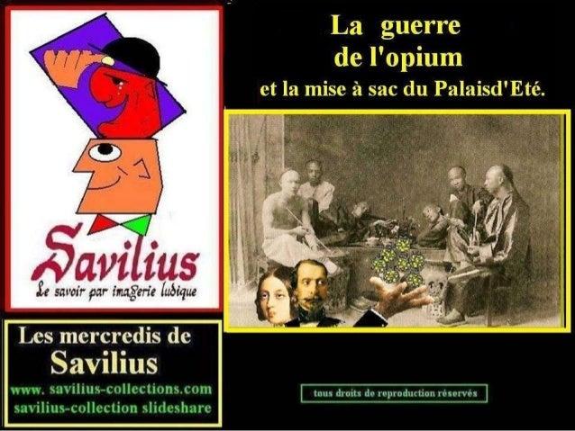 La guerre de l'opium et le sac du palais ok
