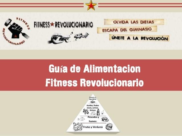Guía de Alimentacion Fitness Revolucionario