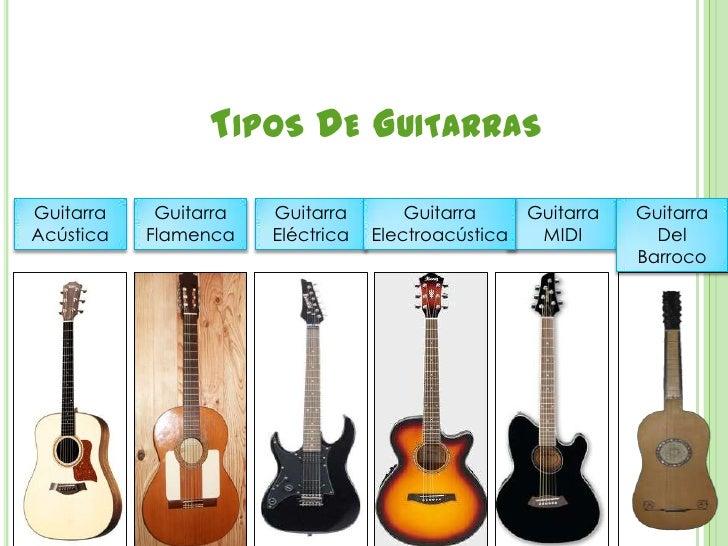 La guitarra - Tipos de cuerdas ...