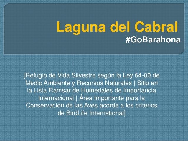 Laguna del Cabral #GoBarahona [Refugio de Vida Silvestre según la Ley 64-00 de Medio Ambiente y Recursos Naturales   Sitio...