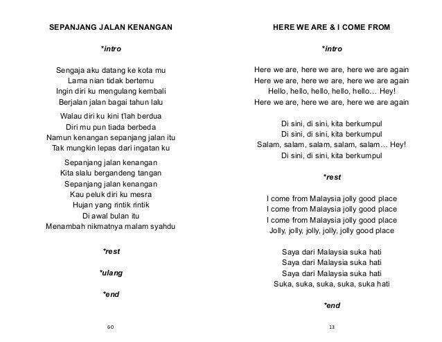 Lagu pengakap