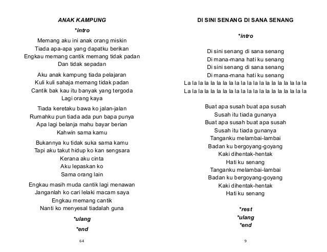 Lirik Lagu Tanak Kampung -Jimmy Palikat | Lirik