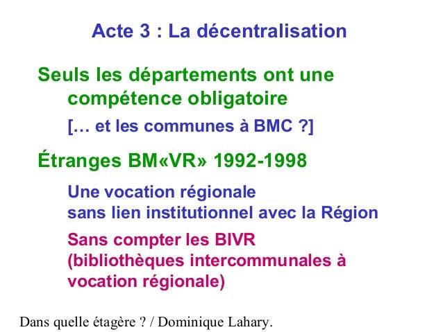 Dans quelle tag re de la r forme territoriale l acte iii de la d - Acte de propriete definition ...