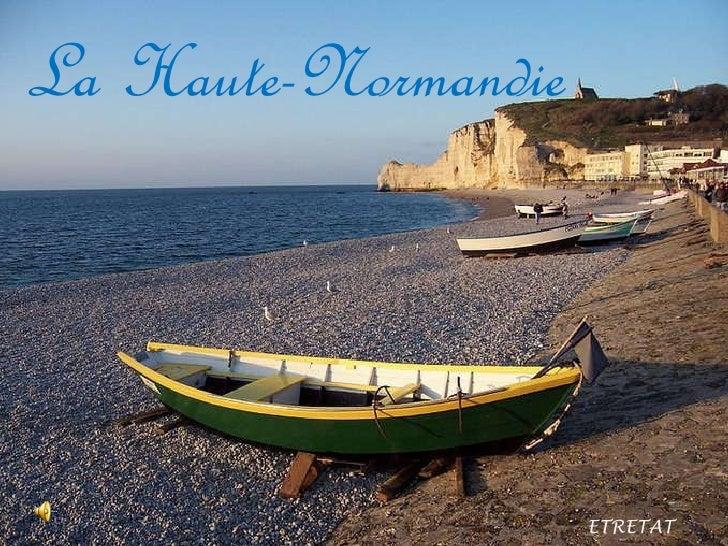La Haute-Normandie ETRETAT _