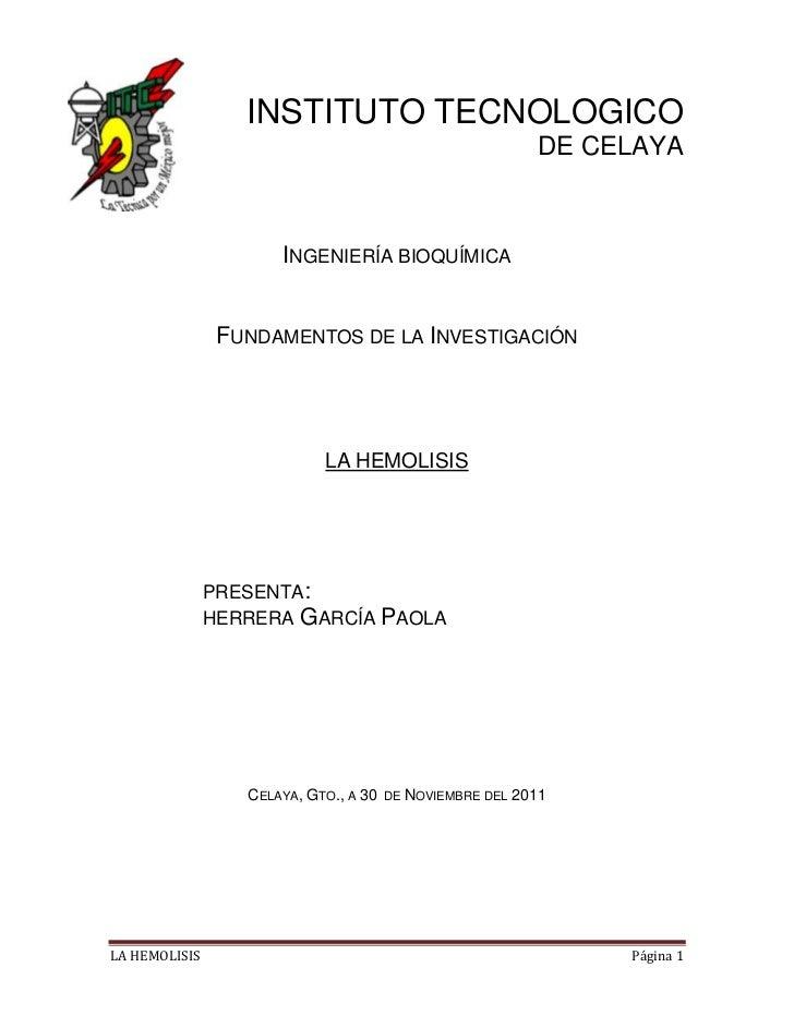 INSTITUTO TECNOLOGICO                                                          DE CELAYA                      INGENIERÍA B...